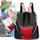 Anti Theft Women Backpack High Quality PU Leather Travel School White Black Red