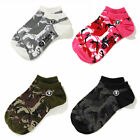 A BATHING APE Goods Men's - AAPE SOCKS 4colors Caomo Ankle AAPSOM4289XXE New