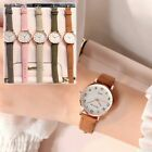 Women Watches Vintage Small Dial Sweet Leather Strap Outdoor Sports Wrist Watch image