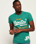 Superdry Mens Shirt Shop Duo Overdyed T-Shirt