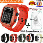 Apple Watch Series 5 4 Armor Case Band 44/42mm Rugged Full Body Protective Cover image
