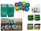 Zelda Birthday Party Sets  Cups Plates Balloons Goody Bags Bracelets Tattoos