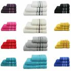 NEW Luxury Quality 100% Egyptian Cotton GSM 500 5 Pieces of Bathroom Towels