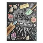 Full Drill Life Is What You Bake It 5D Diamond Painting Cross Stitch Art Kit*Ami