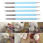 5pcs/Set 2 Way Pottery Clay Ball Tools DIY Sculpting Polymer Modelling Cr WMS image