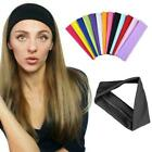 1x Fashion Hair Band Girl Sport Yoga Stretch Headband Sweatband Size Free N0u5