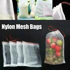 Garden Plant Fruit Protect Drawstring Net Bag Against Bird Pest Insect Z1b1