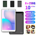 10'' 4g-lte Tablet Pc Android 10.0 8+256gb Wifi Gps Dual Sim Cam Thin Phablet Uk