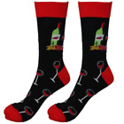 Womens Mens Socks Red Wine Sock Novelty Funny Funky Happy Bright  Cool