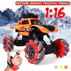 1:16 Stunt RC Car Gesture Sensing Twisting Vehicle Drift Car Kids Toy Xmas Gift