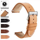 Genuine Leather Watch Band 18mm 20mm 22mm Quick Release Watch Strap For Fossil image