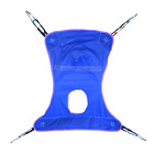 Bestcare - Invacare Mesh Full Body Replacement Sling w/ Commode Opening