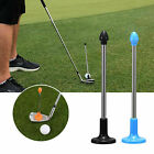 Golf Magnetic Lie Angle Tool Face Aimer Adjustable Alignment Training Aid Rod