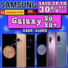 Samsung Galaxy S9 Plus + S9 As Excellent G960/965 64/256gb Unlocked Smartphone