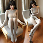 Fully Seamless Bodyhose Catsuit Sheer Velvet Bodystocking With Gloves Any Cut