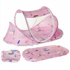 Foldable Baby Mosquito Net Tent Crib Newborn Instant Mattress Pillows Bed Canopy