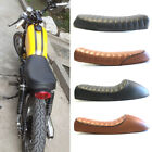 Motorcycle Flat/Hump Saddle Cafe Racer Refit Seat Cushion for Harley Sportster F $56.46 USD on eBay