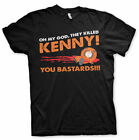 South Park They Killed Kenny Official Black Men T-shirt