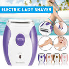 Electric Lady Shaver Double Side Razor Hair Shaver Painless Bikini Trimmer USB