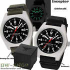 KHS INCEPTOR EINSATZUHR ANALOG MILITÄR BW ARMEE UHR US ARMY TACTICAL WATCH STEELArmbanduhren - 31387