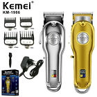 Kemei All-metal Professional Cordless Hair Clipper Trimmer Machine For Men