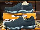 Skechers Mens Slip on Relaxed Fit Memory Foam shoes New