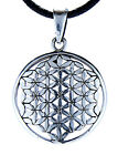 Flower of Life Flower of Life Harmony pendant 925 Silver with Band / Chain 96B