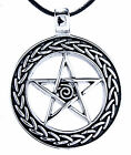 Pentagram pendant Stainless Steel Band / Chain Pentakel Protection No. 138