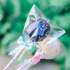 Clear Open Top Lay Flat Poly Bags Candy Cookies Packaging Cellophane Bags G