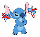 Lilo And Stitch Devil On Shoulder Sticker Vinyl Decal 4-558