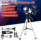 70Mm Refractor Telescope W Tripod & Finder Scope Portable For Kids Astronom F image