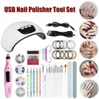 Nail Dryer LED Lamp UV Light for Nails Polish Gel Machine Electric Manicure 45W