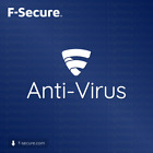 F-Secure Anti-Virus Antivirus 2020 - 1 to 3 years for 1 to 3 PC (License key)