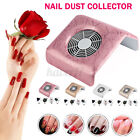 120W Nail Art Vacuum Fan Cleaner Salon Suction Dust Collector Manicure Machine