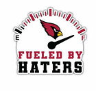 Arizona Cardinals Fueled By Haters Sticker Vinyl Decal 4-942 $6.74 USD on eBay