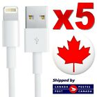 Lightning 8-Pin Apple iPhone Charger Cable USB Data Sync For SE 11 XR XS Max 8 7 <br/> 🔥 · 5 PACK · 🔥 · FAST SHIP · 🔥 · HIGH QUALITY · 🔥