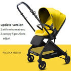 Lightweight Reversable Baby Stroller  Folding  Carts Handle Seat Baby Carriage
