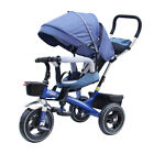 Manufacturers  Children's Tricycle Four Bicycle 1-6 Spinning Seat Baby Cart