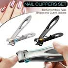 Heavy Duty 15mm Wide Jaw Nail Clippers For Thick And Hard Toenails Fingernail ..