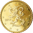 [#765732] Finnland, 50 Euro Cent, 2014, VZ, Messing