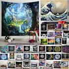 Fashion Printed Tapestry Wall Hanging Mats Bedspread Blankets Home Bedroom Decor