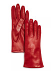 Bloomingdales Womens Cashmere Lined Leather Gloves Various Sizes, Colors
