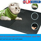 Pet Cat Litter Mat Double-Layer EVA Non-Toxic Pad Trapper Mat folding Waterproof