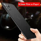 Ultra-thin Matte Case For iPhone 12 Min 11 Pro Max XS Max XR SE Slim Hard Cover