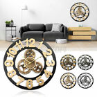 Industrial Retro Gears Wall Clock Decorative Woodeen 18/20inch Art Age Style
