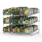 Stackable Storage Dispenser Holds up to 36 Cans for Kitchen,Can Rack Organizer