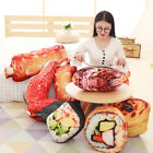 Creative Cushion Throw Pillow Simulation Food Sushi Stuffed Doll Plush Toy Gift