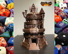 Fates End Artificer Class Dice Tower Quality 3D Print with Dice Tray Steampunk