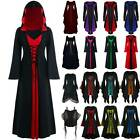 Women Renaissance Halloween Witches Gothic Medieval Party Fancy Dresses Apparel