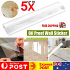 Transparent Waterproof Oil Proof Wall Sticker Self Adhesive Kitchen Home Decor